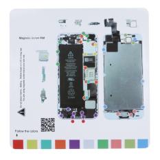 Sekrup Magnetik Bekerja Bantalan Tatakan untuk IPhone 5 S LCD Touch-Internasional