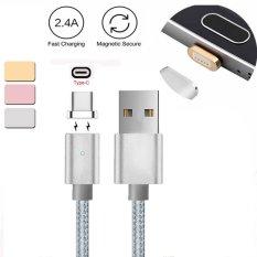 Harga Magnetic Usb C Tipe C Charger Kabel Untuk Lg G5 G6 Pixel P9 P10 Oneplus 2 3 3 T Silver Intl Murah