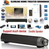 Jual Beli Magnetic Nirkabel Soundbar Lp 08 Hifi Kotak Bluetooth Subwoofer Speaker Boombox Stereo Portable Handsfree Speaker Untuk Tv Pc Grey Intl Baru Tiongkok