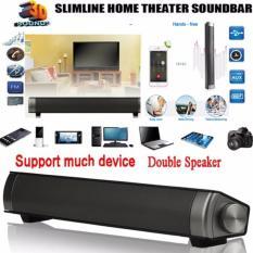 Ulasan Mengenai Magnetic Nirkabel Soundbar Lp 08 Hifi Kotak Bluetooth Subwoofer Speaker Boombox Stereo Portable Handsfree Speaker Untuk Tv Pc Grey Intl