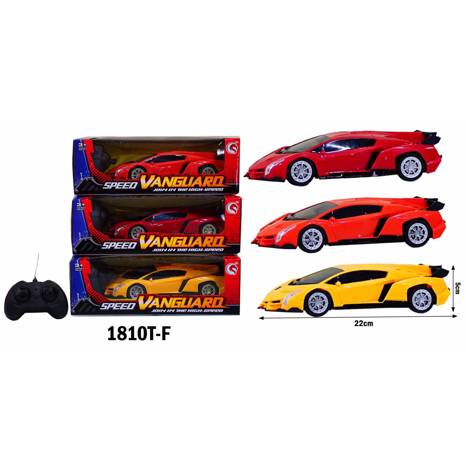 Spek Mainan Anak Rc Mobil Remot Speed Vanguard Lambo 1810T V Warna Random