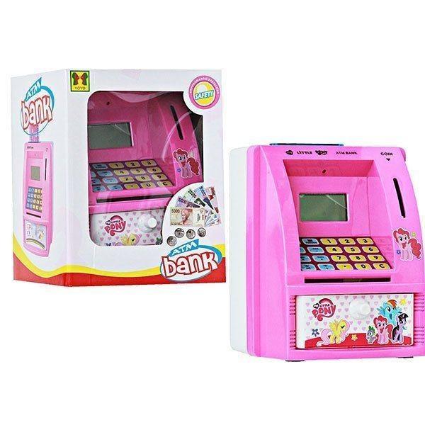 Toko Mainan Celengan Atm Ukuran Mini Dengan Bahsa Indonesia Pink Online Terpercaya