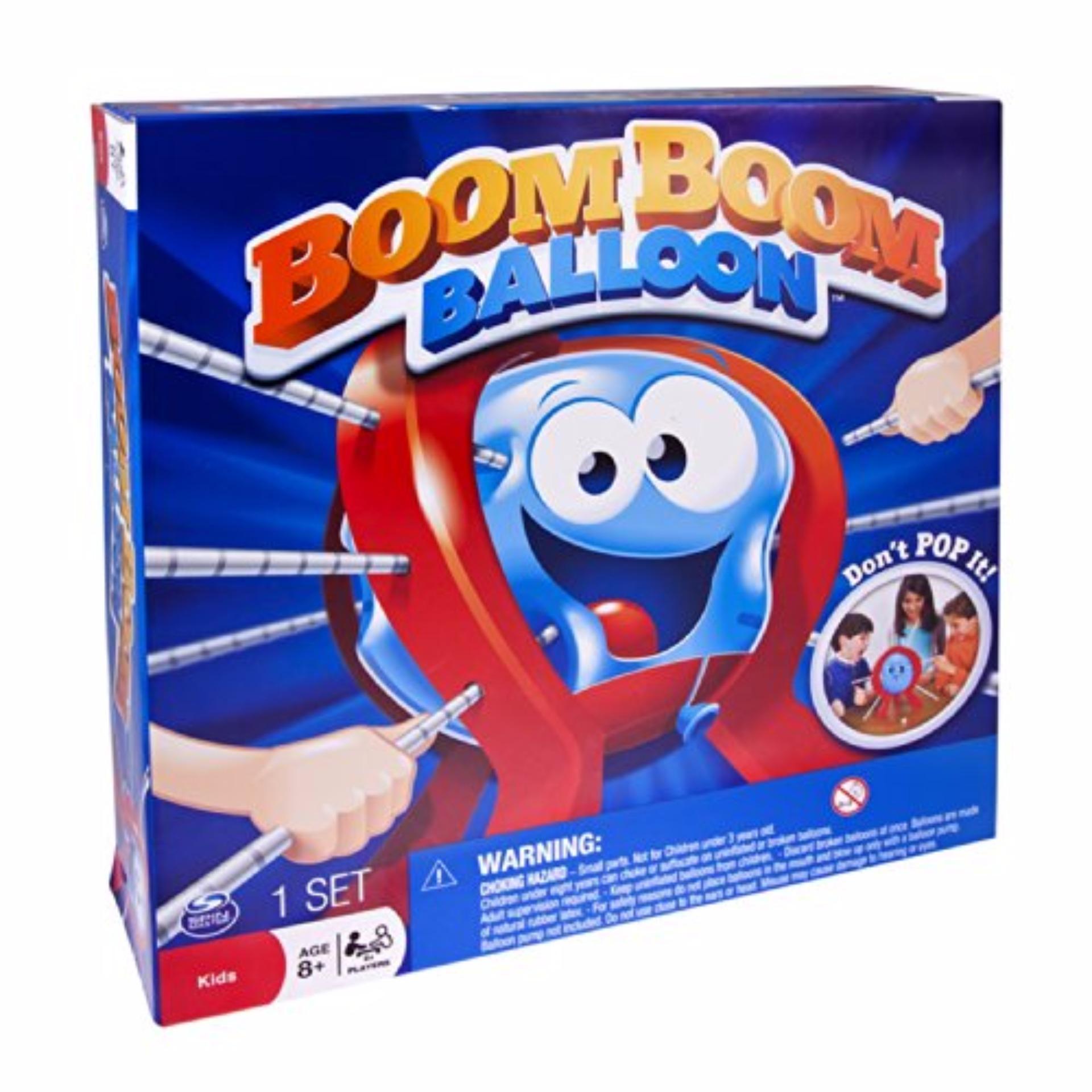 Beli Mainan Edukatif Melatih Motorik Anak Boom Boom Balloon Pakai Kartu Kredit