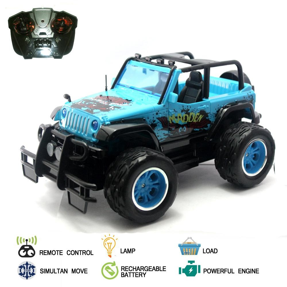 Mainan Mobil Remote Control RC Monster Jeep Truck