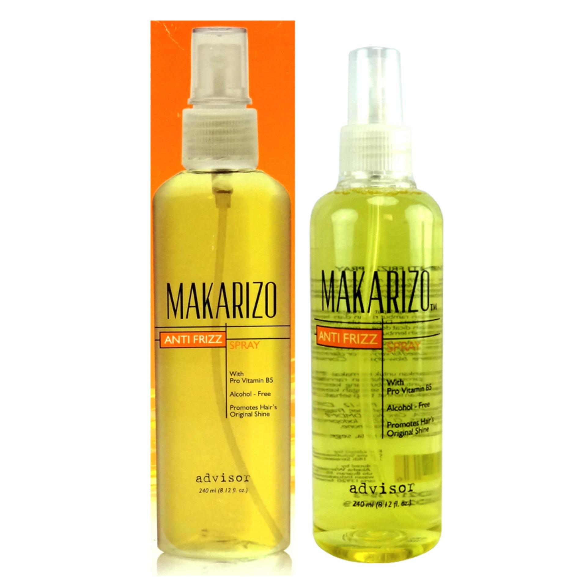 Iklan Makarizo Anti Frizz Spray Advisor 240Ml