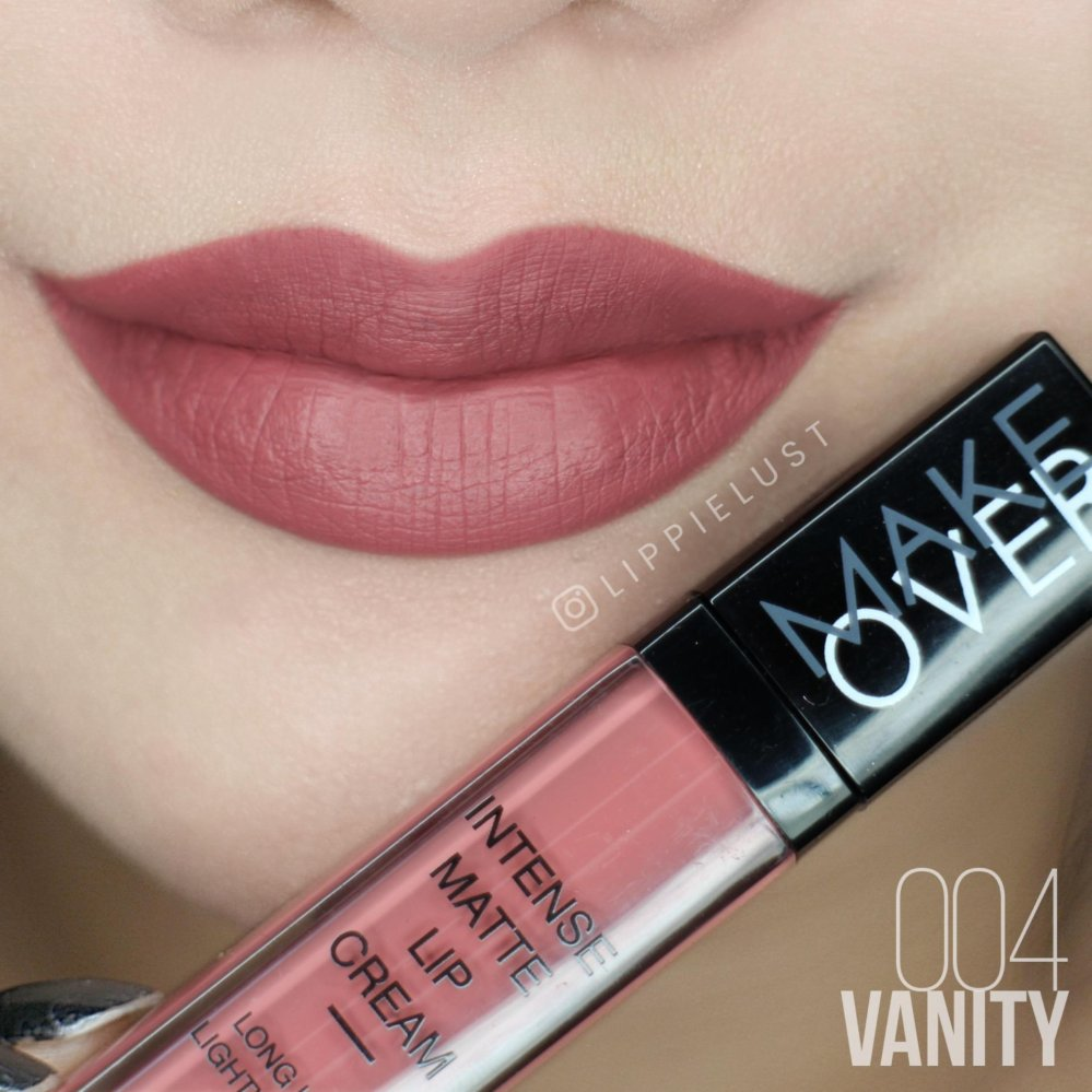 Jual Make Over Intense Matte Lip Cream 04 Vanity Satu Set