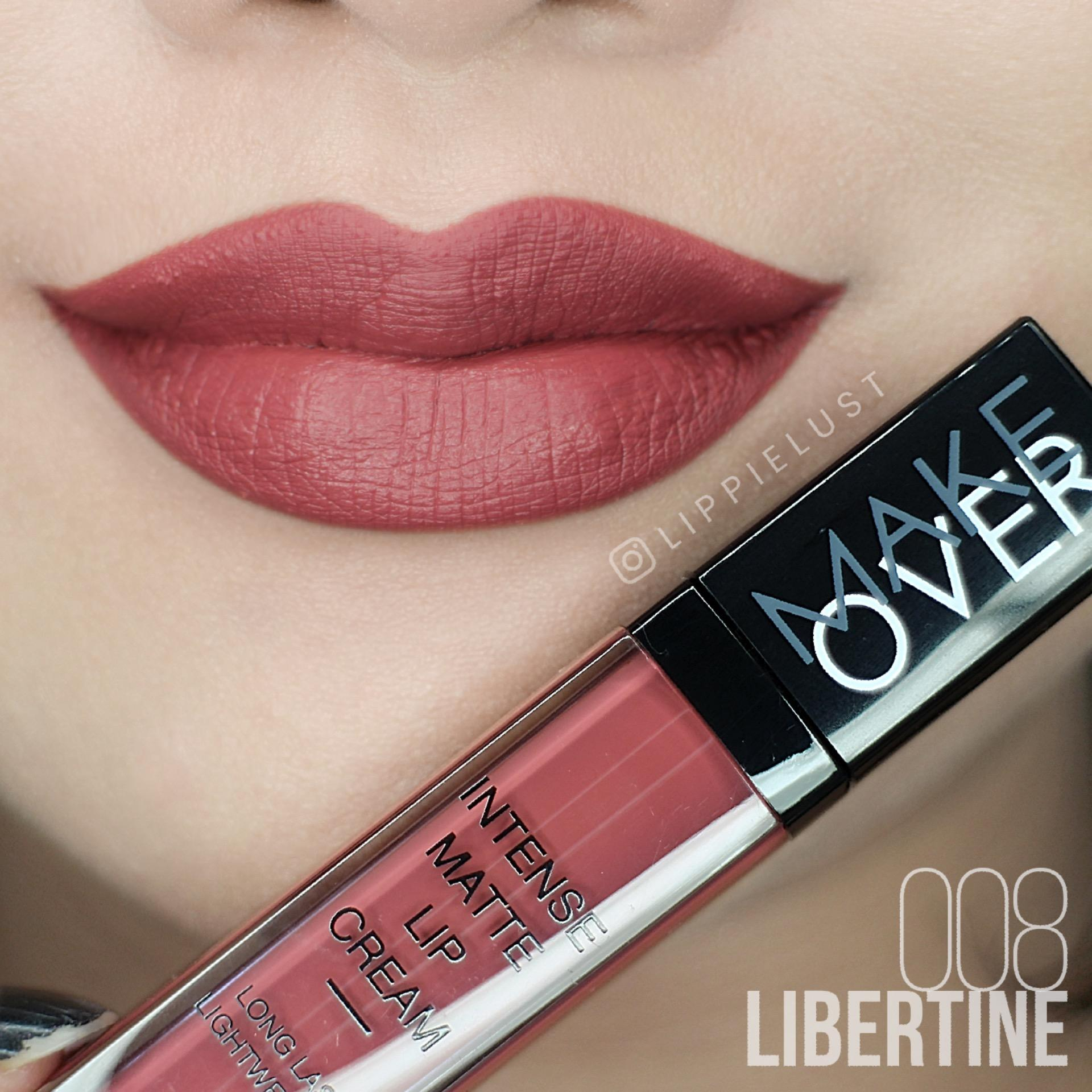 Diskon Make Over Intense Matte Lip Cream 08 Libertine Make Over Di North Sumatra