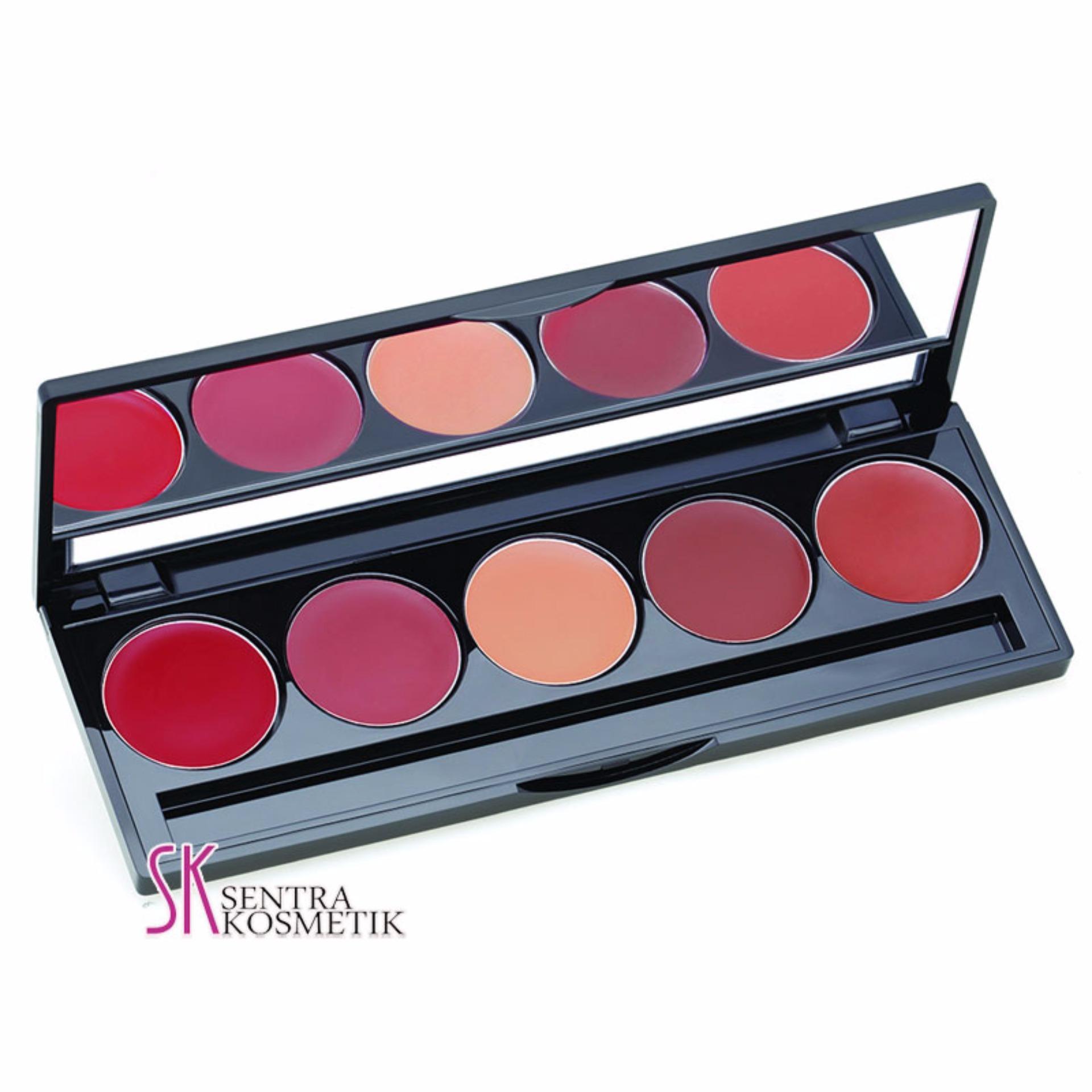 Make Over Lip Color Pallete - Retro Red