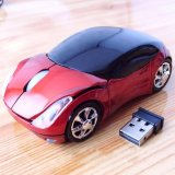 Spesifikasi Makiyo Usb 2 4G Wireless Mouse Bentuk Mobil Untuk Pc Laptop Macbook Intl