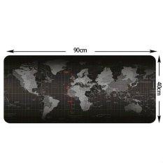 Beli Makiyo Pola Peta Dunia Mouse Pad Anti Slip Kantor Meja Pad 90 40 Cm Intl Murah Tiongkok