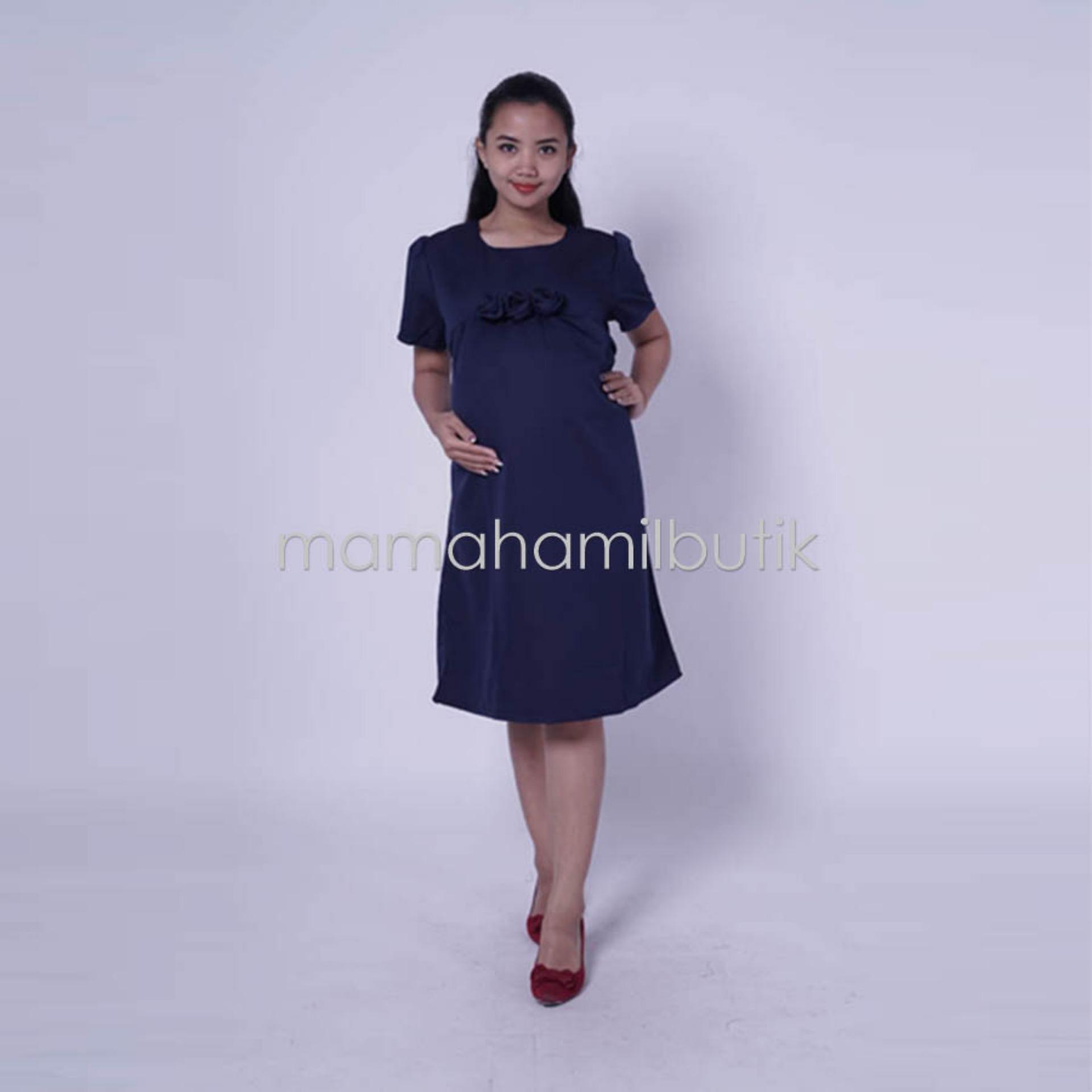Beli Mama Hamil Free Cd Hamil 1Psc Baju Hamil Dress Hamil Feny Dress Pesta Modis Simpel Rose Jawa Timur