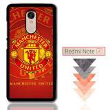 Harga Manchester United Fc Logo X3243 Xiaomi Redmi Note 4 Note 4X Custom Case Yang Murah