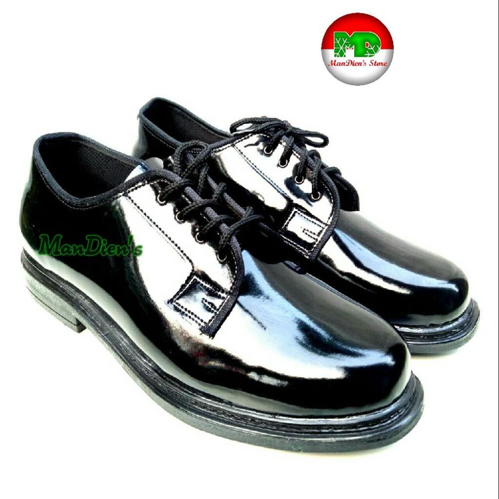 Beli Mandiens Sepatu Pria Pantofel Pdh Pendek Hitam Dengan Kartu Kredit