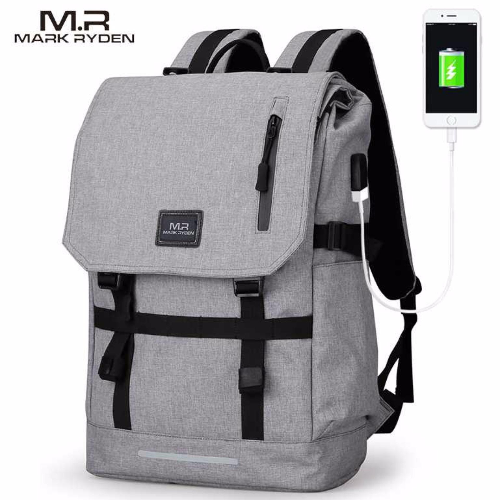 Harga Mark Ryden Tas Ransel Laptop Dengan Usb Charger Port Mr5748 Mark Ryden Asli