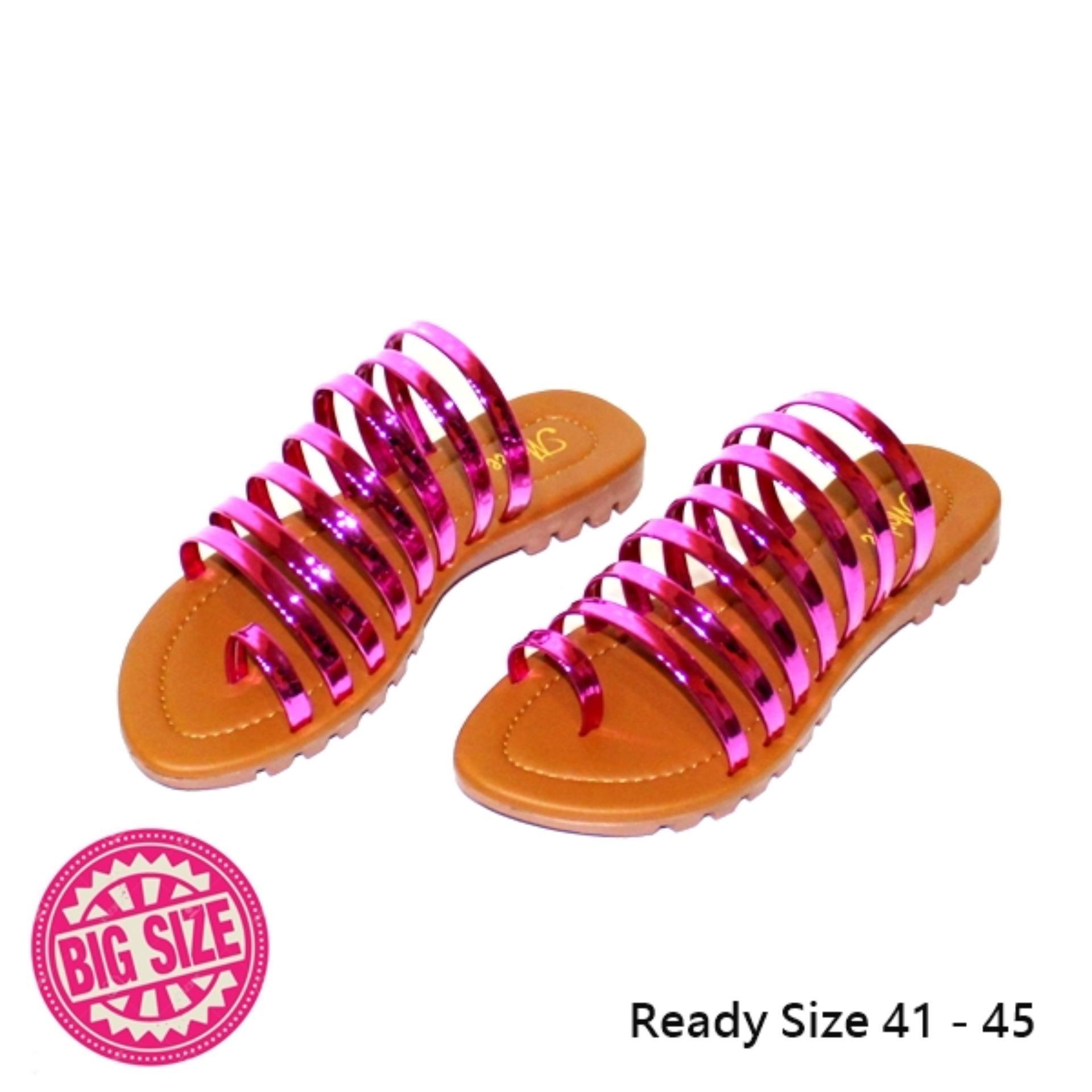 Marlee BIGSIZE Sandal Flat Kronjo Wanita MB-04
