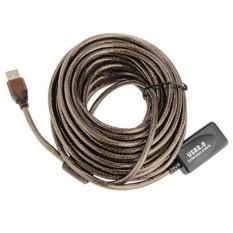 Marsnaska High Speed Active 30Ft 30F USB 2.0 Kabel Ekstensi Laki-laki Ke Perempuan dengan Booster Repeater Extender 10 M 10 Meter Sale-Intl