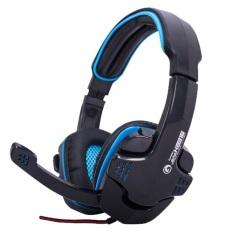 Marvo Headset Gaming H8316 Biru Marvo Diskon 50