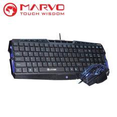 Marvo Keyboard + Mouse Gaming Combo K325 + M306 - Hitam