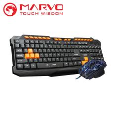 Marvo Keyboard + Mouse Gaming Combo K328 + M306 - Hitam