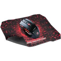 Marvo M315 Gaming Mouse Scorpion 7D  + Mouse Pad G1 - Hitam