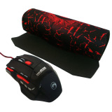 Jual Marvo M315 Gaming Mouse Scorpion 7D Mouse Pad G1 Hitam Baru