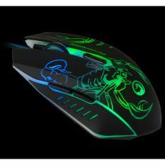 Spesifikasi Marvo M316 Gaming Mouse 6D 2400 Dpi Hitam Dan Harganya