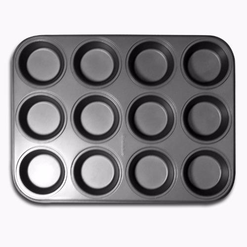 Review Toko Master Pastry Non Stick 12 Cup Muffin Pan Cetakan Muffin Cetakan Kue Online