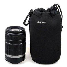 Ulasan Lengkap Matin Sarung Case Lensa Hitam Ukuran S