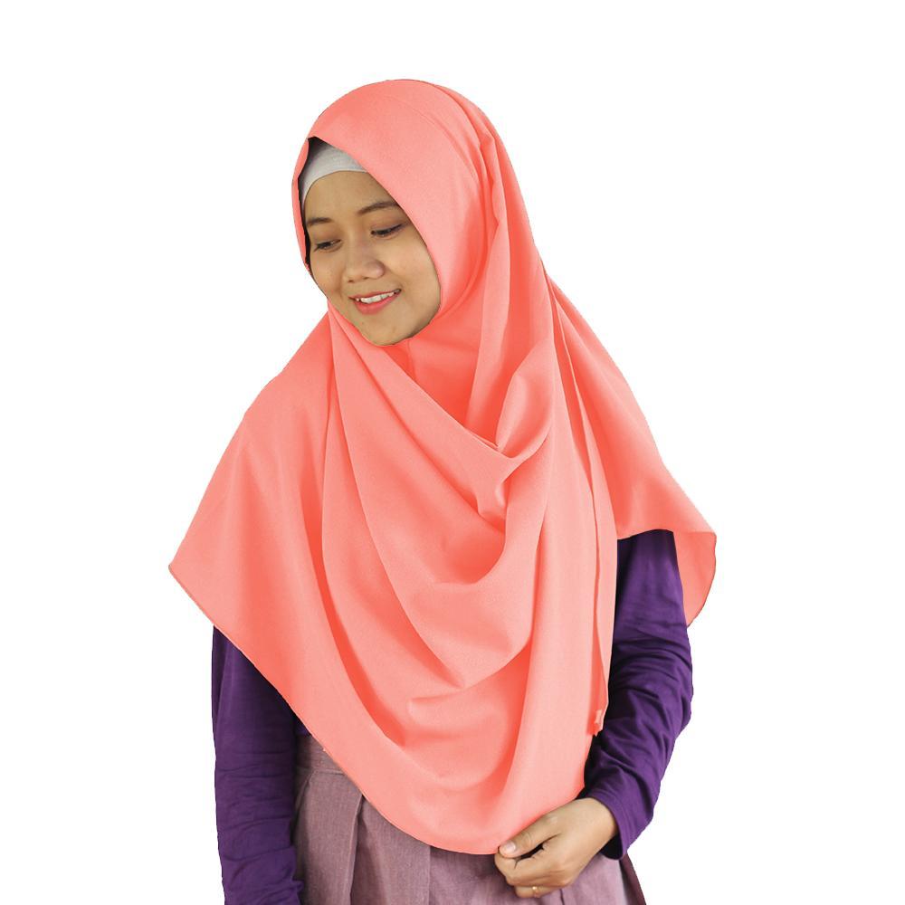 Maula Hijab Jilbab Kerudung Instan Pashmina Instan Syari Murah