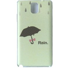 Max Custom Case Hard Printing Cover Fashion Korean Style for Samsung Galaxy Note 3 - Umbrella