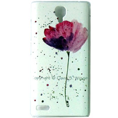 Beli Max Custom Case Hard Printing Cover Fashion Korean Style For Xiaomi Redmi Note Beautiful Flower Max Murah