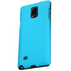 Beli Max Fashion Design Ultra Thin Backcase For Samsung Galaxy Note 4 Biru Nyicil