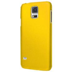 Beli Max Fashion Design Ultra Thin Backcase For Samsung Galaxy Note 4 Kuning Secara Angsuran