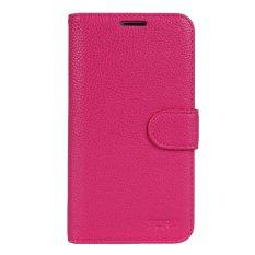 Beli Max Imported Premium Korean Fashion Leather Flip Case For Samsung Galaxy Note 4 Hot Pink Baru