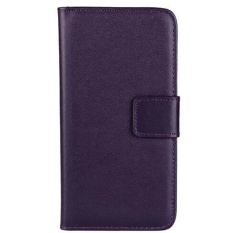 Beli Max Imported Premium Korean Fashion Leather Flip Case For Samsung Galaxy S4 Dark Purple Online Murah
