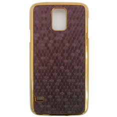 Jual Beli Online Max Premium Cool Hardcase Back Cover For Samsung Galaxy S5 Dark Chocolate