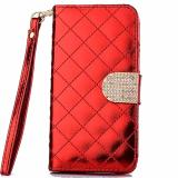 Diskon Besarmax Wallet Purse Phone Case 4 7 Inch For Iphone 6 Red