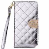 Jual Max Wallet Purse Phone Case 4 7 Inch For Iphone 6 Silver Import