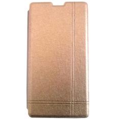 Jual Max Xiaomi Redmi 1S Imported Premium Cover Wallet Flip Case Gold Max Asli