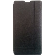 Jual Max Xiaomi Redmi 1S Imported Premium Cover Wallet Flip Case Hitam Satu Set