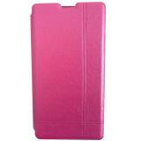 Max Xiaomi Redmi 1S Imported Premium Cover Wallet Flip Case Pink Murah