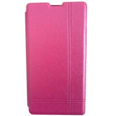 Max -  Xiaomi Redmi 1S Imported Premium Cover Wallet Flip Case - Pink