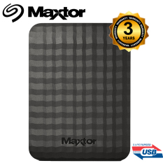 Diskon Maxtor Hard Disk External M3 Portable 1Tb Super Speed Usb 3 Akhir Tahun