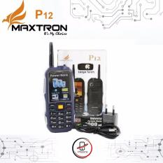Jual Maxtron P12 New Baterai 12000Mah Power Bank Maxtron Murah