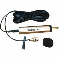 Maxxis MX-22 Mic / Mik / Microphone / Mikrofon Jepit Baju Mini-NEW