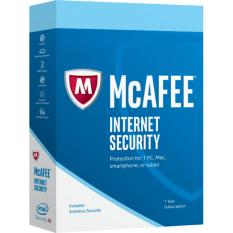 Beli Mcafee Internet Security 2 Tahun 1 User Baru
