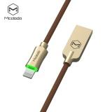 Promo Mcdodo Ca 390 Knight 2 4A 8 Pin Pernapasan Led Transfer Data Sinkronisasi Pengisian Kabel 1 2 M Murah