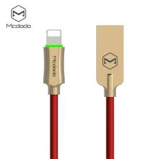 Beli Mcdodo Petir Ke Usb Kabel Untuk Iphone 7 Kabel Kabel Telepon Pintar Auto Putuskan Fast Charger Nylon Dikepang Ios 11 Dengan Led 1 2 M Intl Online Murah