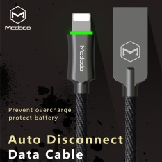 Mcdodo Seng Knight 1 8 M Auto Putuskan Lightning Kabel Data For Iphone7 7 Plus 6 S 6 Breathing Light Cepat Charging Data Sync Usb Kabel Hitam Terbaru