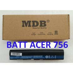 MDB Baterai Laptop, Baterai Acer Aspire One AOD756, 725, V5-131,